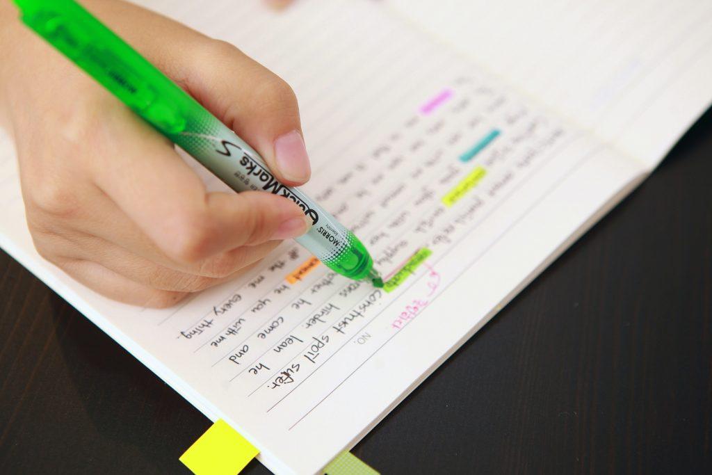 schrijven of typen